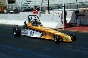 Maddy's old Jr. Dragster